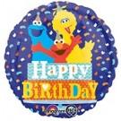 "18"" Sesame Street Birthday Confetti Balloon"