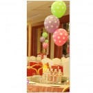 3pcs Polka Dot Balloon Bouquet