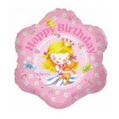 "18"" Happy Birthday Little Princess Foil Balloon"