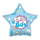 "18"" It's A Boy Stork Star Balloon"
