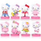Hello Kitty 8 pcs Figure Topper