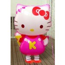 Pink Hello Kitty Walking Pet