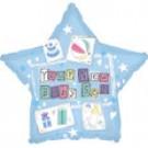"9"" Airfill New Baby Son Balloon"