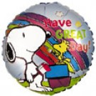 9'' Have A Great Day Snoopy Balloon