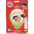 18in PERSONALIZE IT! Dora Balloon