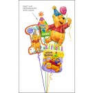 Winnie the Pooh Party Balloon Bouquet