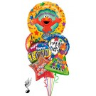 Elmo Balloon Bouquet