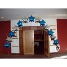 Star Foil Balloon Arch