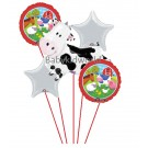 Cow Happy Birthday Balloon Bouquet