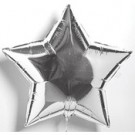 "18"" Silver Star Balloon"
