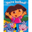 Dora & Friends Invitations & Thank You Card