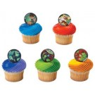 Ben 10 Alien Superheroes Cupcake Picks
