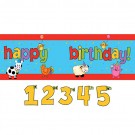 Barnyard Bash Giant Party Banner 5ft