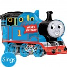Thomas the Train Happy Birthday SuperShape Sing-a-Tune Balloon