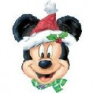 Mickey Mouse Santa Head Balloon