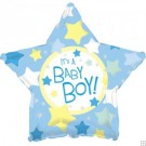 "18"" It's a Baby Boy Star Balloon"
