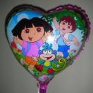 """18"""" Dora & Friends Foil Balloon"""