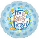 "18"" It's a Boy Feet Balloon"