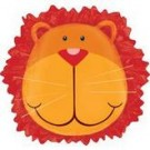 "24"" Jungle Animals Lion Head SuperShape Foil Balloon"