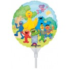 "Sesame Street Friends 9""/23cm EZ-Fill Balloon"