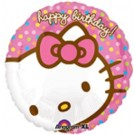 "18"" Hello Kitty Happy Birthday Balloon"