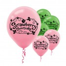 "12"" Strawberry Shortcake Printed Latex Balloons"