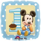 "18"" Mickey 1st Birthday Balloon"