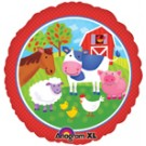 "18"" Barnyard Friends Foil Balloon"