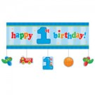 Fun at One Boy Giant Party Banner