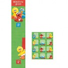Sesame Street 1st Birthday Party Growth Chart