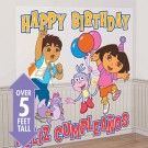 Dora the Explorer Birthday 65in Scene Setter
