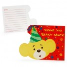 Build-A-Bear Workshop Red Thank-You Notes