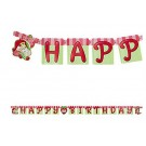 Strawberry Shortcake Letter Banner 5ft