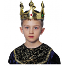 Child Jeweled King Crown