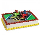 Sesame Street Elmo Racers Cake Decoration Kit Topper
