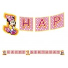 Minnie Mouse 1st Birthday Birthday Banner 8ft