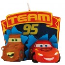 Cars Lightning McQueen Birthday Cake Candle 3 1/2in