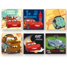 Cars Square Stickers