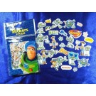 Toy Story Die Cut Mini Stickers, 100 PCS