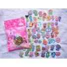 Strawberry Shortcake Die Cut Mini Stickers, 100 PCS
