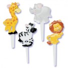 Jungle Animal Party CupCake Picks