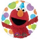 "17"" Elmo Happy Birthday Foil Balloon"