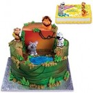 Jungle Animals Cake Decoration Kit Topper