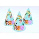 Jungle Animal Party Hats