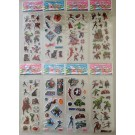 Avenger Bubble Stickers, 6 sheets