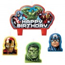Avengers Candle (4pcs)