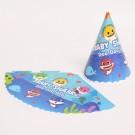 Babyshark Cone Hats 8pcs per pack