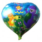 "18"" Barney Balloon"