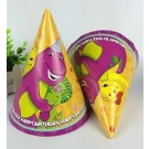 Barney and Friends Cone Hats