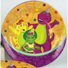 Barney and Friends 9in Paper Plate